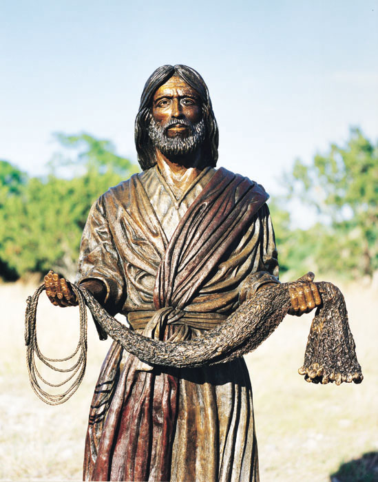 """Fisher of Men""® Bronze Sculpture"